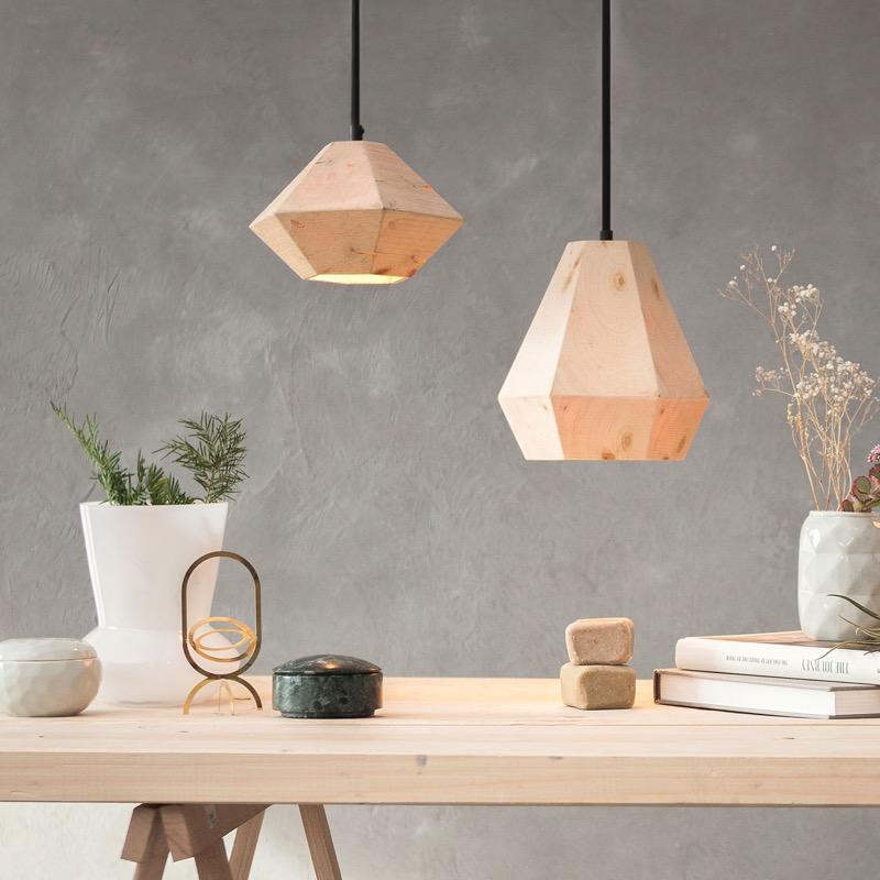 Hängeleuchte Design almleuchten design lighting made of timber